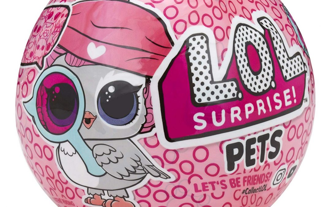 LOL Serie 4 Mascotas Guía de Eye Spy